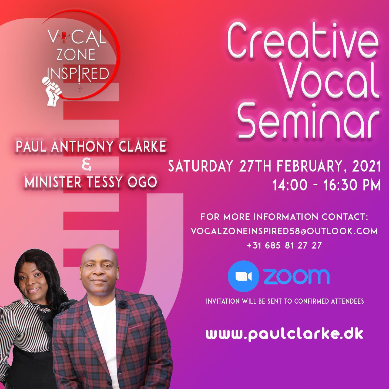 Creative Vocal Seminar